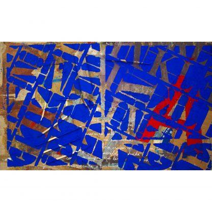 Pintura Patrón aIKB del artista Álvaro Sánchez del Castillo del proyecto Repetition Ways