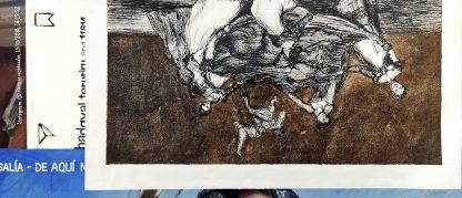 Detalle Disparate femenino de la pintura #womenempowerment del artista Álvaro Sánchez del Castillo del proyecto La furia del hashtag: pinturas sobre postfotografias