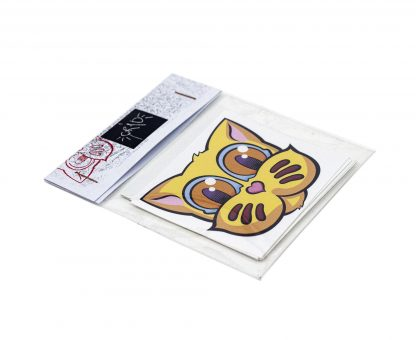 Pack de pegatinas Grid Basic Edition 02 del artista Álvaro Sánchez del Castillo del proyecto Grid el gato
