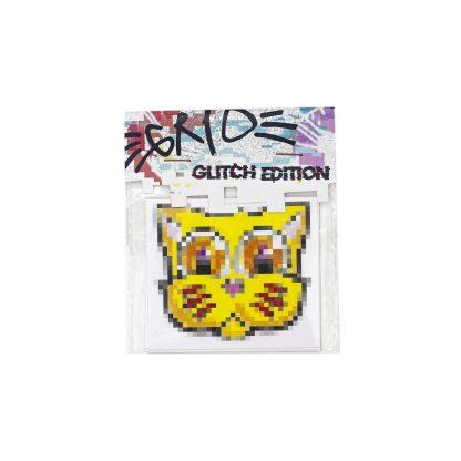 Pack de pegatinas Grid Glitch Edition 01 del artista Álvaro Sánchez del Castillo del proyecto Grid el gato