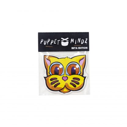Pack de pegatinas Grid Puppet Mindz Beta Edition 01 del artista Álvaro Sánchez del Castillo del proyecto Grid el gato