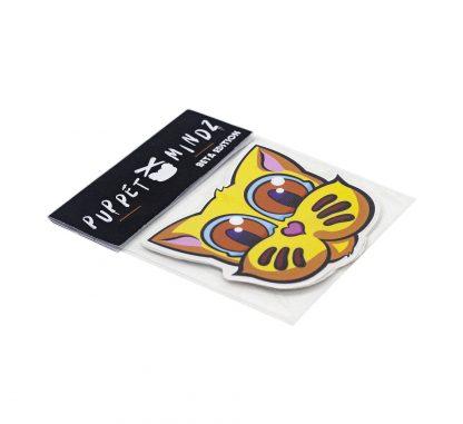 Pack de pegatinas Grid Puppet Mindz Beta Edition 02 del artista Álvaro Sánchez del Castillo del proyecto Grid el gato